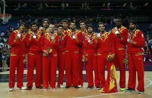 La selección española de baloncesto fue plata en Londres