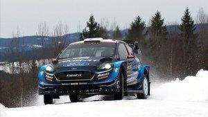 Suninen lidera el Rally de Suecia