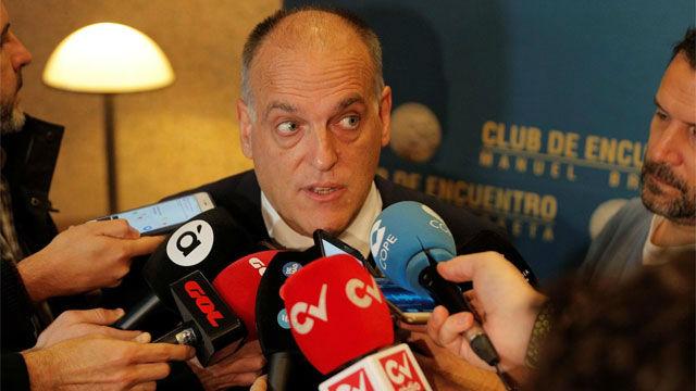 Tebas: España necesitaba un partido como VOX, les votaré si siguen así