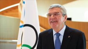 Thomas Bach visitará dos día París para hacer un seguimiento de la ciudad olímpica de 2024