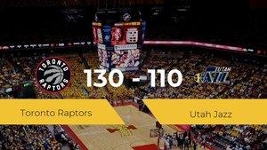 Toronto Raptors se queda con la victoria frente a Utah Jazz por 130-110