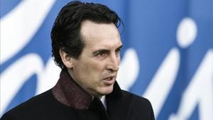 Unai Emery confía en la fuerza del Parque de los Principes para doblegar al Real Madrid