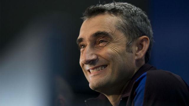 Valverde destacó la importancia de los tres puntos