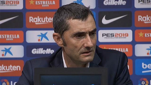 Valverde habló sobre la multa a Piqué