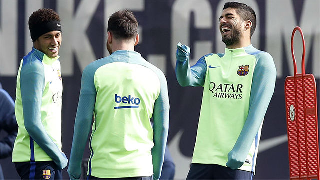 El vestuario del Barça dice SÍ a Neymar