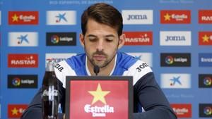 Víctor Sánchez ve al equipo tocado pero con fuerzas para revertir la situación