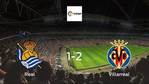 Villarreal cruise to a 1-2 victory vs. Real Sociedad at Reale Arena