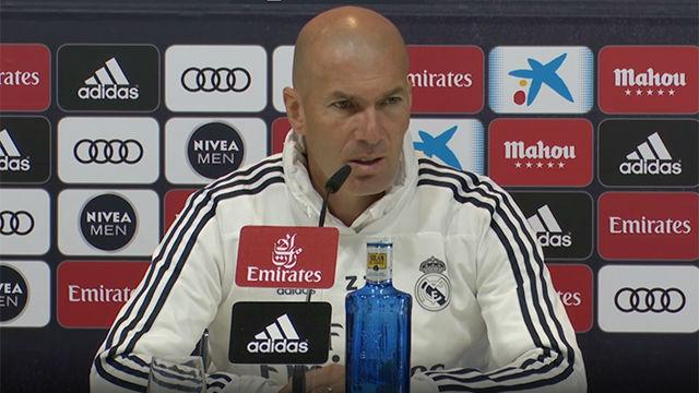 Zidane habló antes de enfrentarse al Leganés