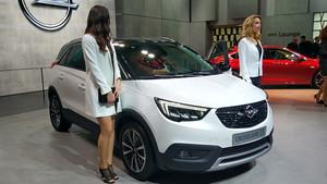 Opel Crossland X en el Salón del Automóvil de Ginebra