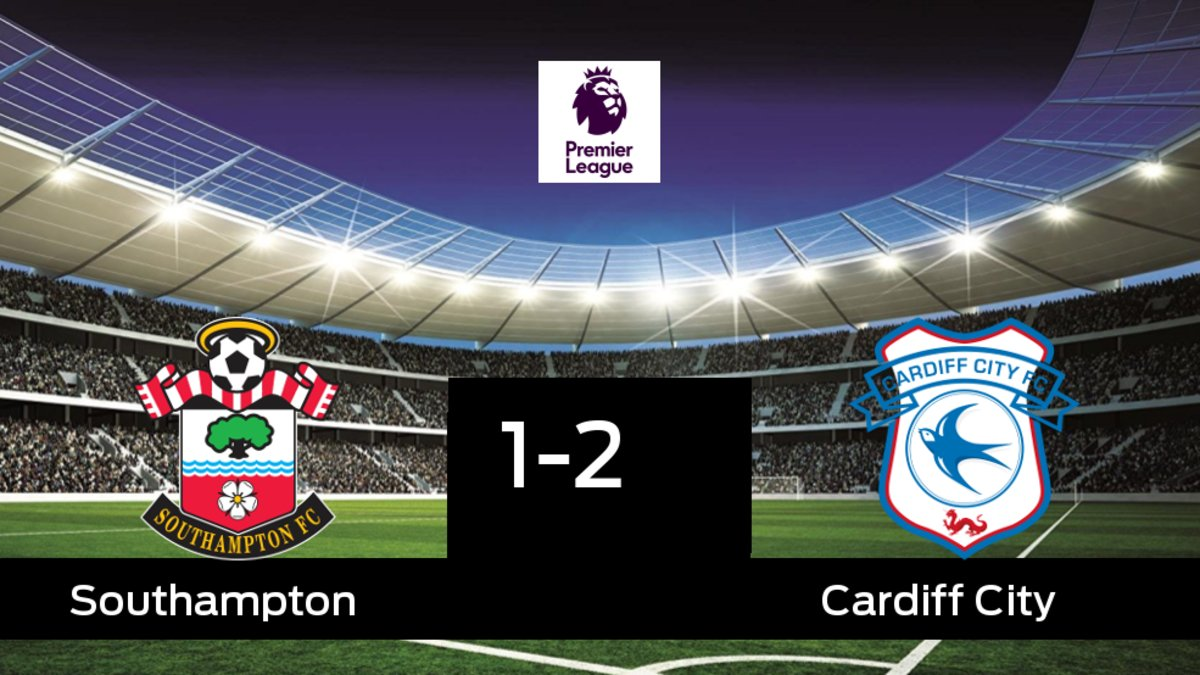 El Cardiff City gana en el St. Mary s Stadium al Southampton e978ef041bd