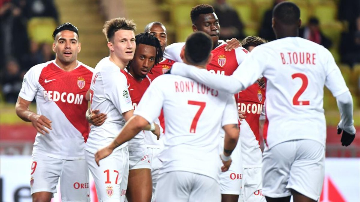 El Mónaco vence al Nantes (1-0) y sale del descenso