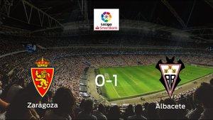 El Albacete derrota al Real Zaragoza en La Romareda (0-1)