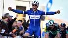 Álvaro Hodeg celebra su primer triunfo de etapa en la Volta a Catalunya