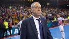 Andreu Plaza respiró tranquilo tras conquistar la Liga en el Palau