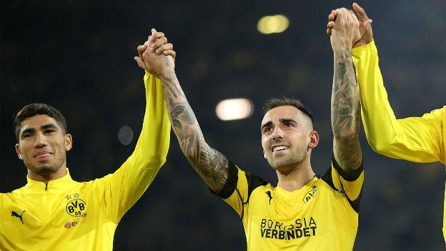 Así se estrenó Alcácer como goleador del Borussia Dortmund