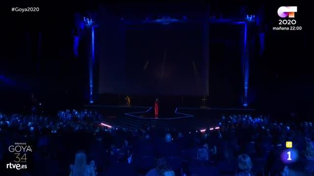 Así fue la actuación musical de Amaia en los Goya 2020