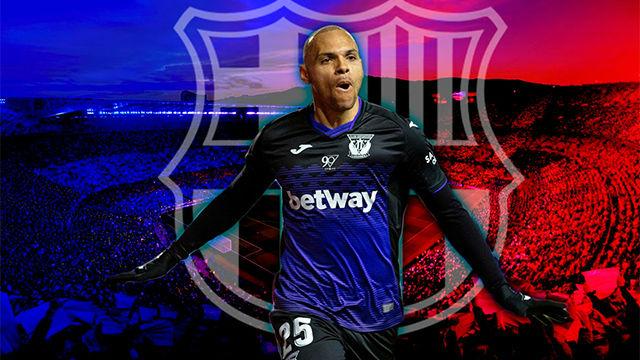 Así juega Braithwaite, el nuevo delantero del FC Barcelona que llega como suplente de Dembélé