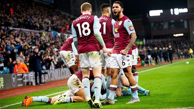 El Aston Villa se lleva los tres puntos tras remontar al Watford