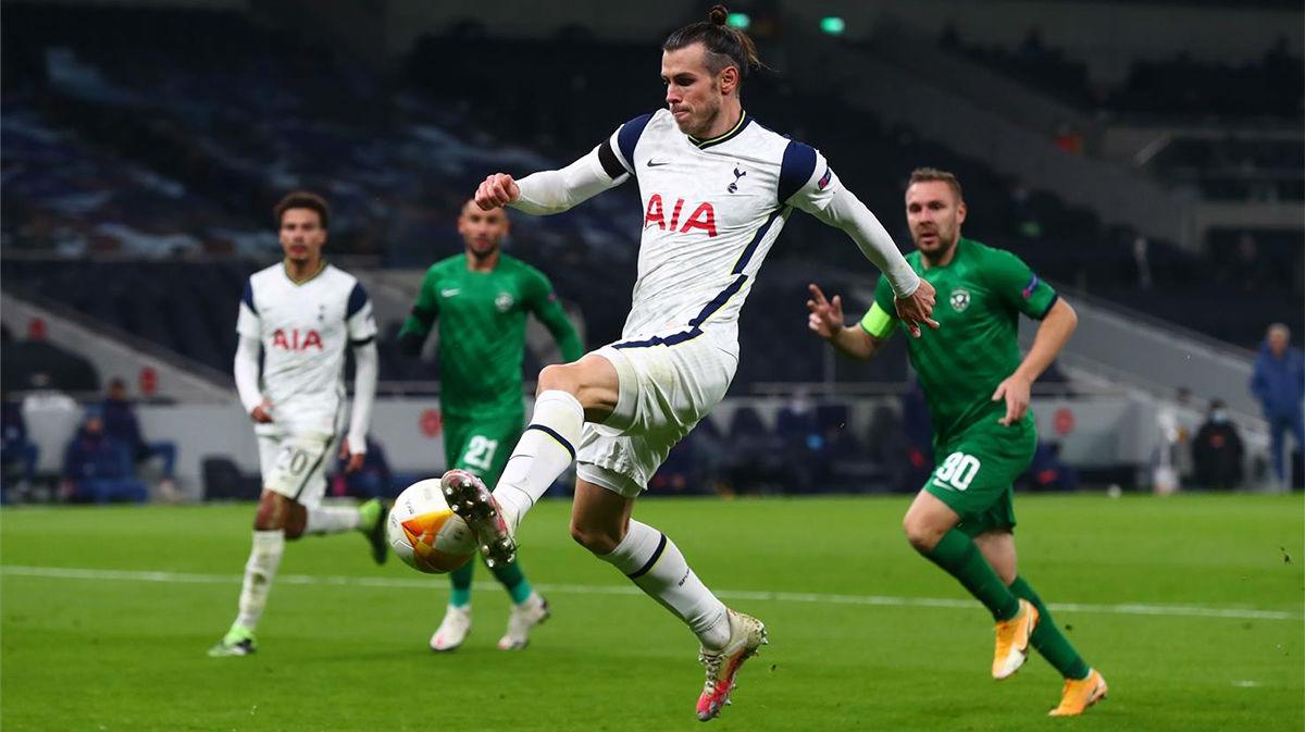 Bale lo intentó pero se le resistió el gol ante el Ludogorets