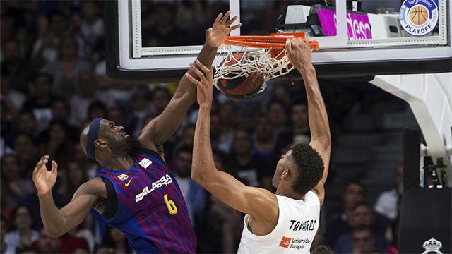 El Barça cae de manera clara ante el Madrid en el primer partido de las finales