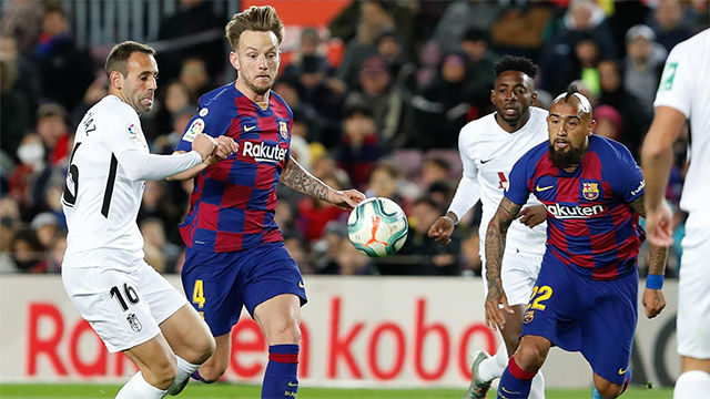 El Barça ya nota el efecto Setién: así tocaron la pelota desde el inicio de partido