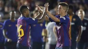 El Barcelona se enfrenta al AC Milan
