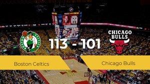 Boston Celtics se queda con la victoria frente a Chicago Bulls por 113-101