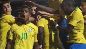Brasil llega a los 4 puntos en el torneo