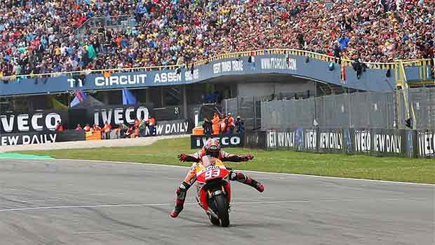 El circuito de Assen del GP de Holanda de MotoGP (ES)