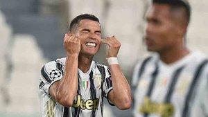 Cristiano Ronaldo ha fracasado con la Juventus en la Champions