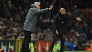 El derbi de Manchester ha reabierto viejas rencillas entre José Mourinho y Pep Guardiola