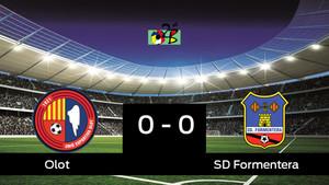 Empate, 0-0, entre el Olot y el Formentera