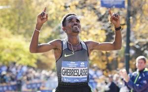 El eritreo Ghirmay Ghebreslassie es el más joven vencedor de la historia del maratón de Nueva York
