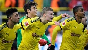 Erling Haaland ha encontrado en el Borussia Dortmund su hábitat ideal