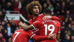 Fellaini dio la victoria al United