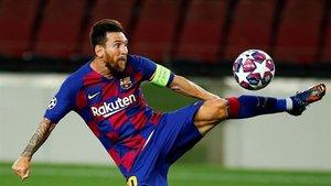 Gaspart tiene confianza en Leo Messi