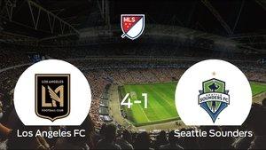 Goleada del Los Angeles FC por 4-1 frente al Seattle Sounders
