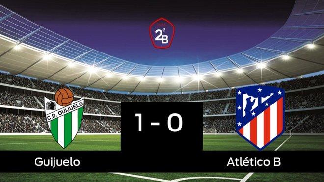 El Guijuelo derrota en casa al Atlético B por 1-0