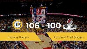 Indiana Pacers logra la victoria frente a Portland Trail Blazers por 106-100