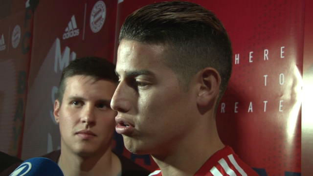 James compara al Bayern con el Real Madrid