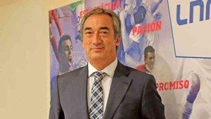 Javier Lozano, presidente de la LNFS