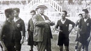Joan Gamper fue el gran artífice de la identificación del Barça con Catalunya que se inició con su primera presidencia