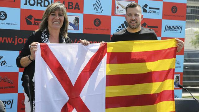 Jordi Alba: Quiero que gane el Liverpool