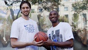 Kobe y Pau compartían una gran amistad desde que fichó por los Lakers