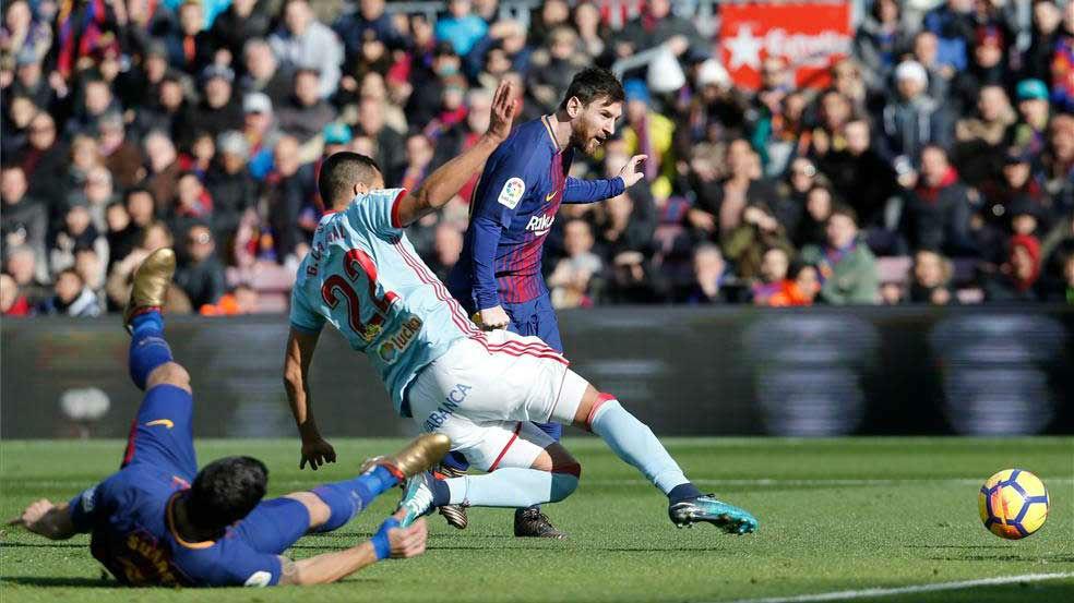 LALIGA | FC Barcelona - Celta (2-2): El gol de Leo Messi