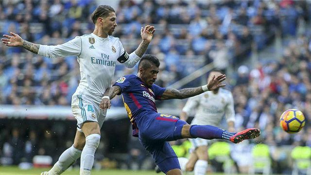 LALIGA | Real Madrid - FC Barcelona (0-3): Las ocasiones de Paulinho
