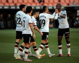 Las imágenes del Valencia, 2 - Osasuna, 0