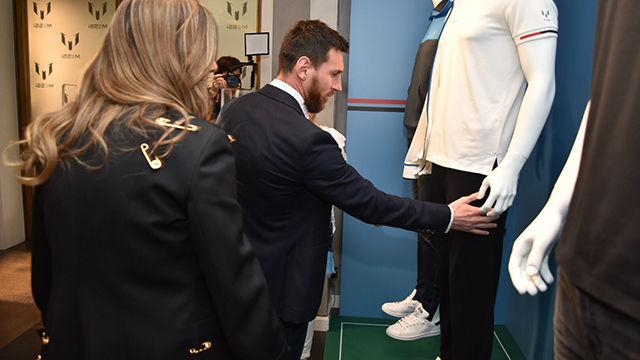 Las impresiones de Messi tras estrenar su línea de ropa