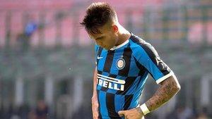 Lautaro Martínez, jugador del Inter de Milan por el que suspira el FC Barcelona en el mercado veraniego de traspasos