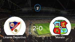 El Linares Deportivo elimina al Moralo en el partido de vuelta de los playoff después de ganar 2-0